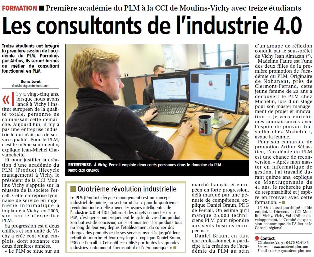 Les consultants de l'industrie 4.0